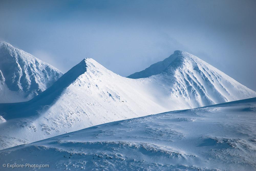 Sommets près du mont Akka
