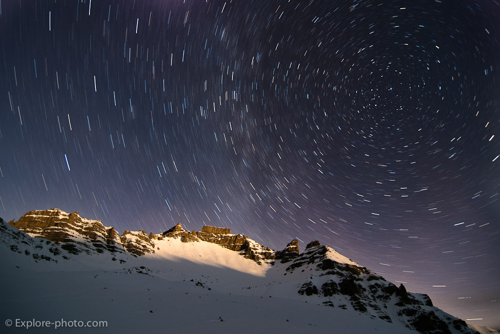 Raid en ski : Mercantour et Ubaye