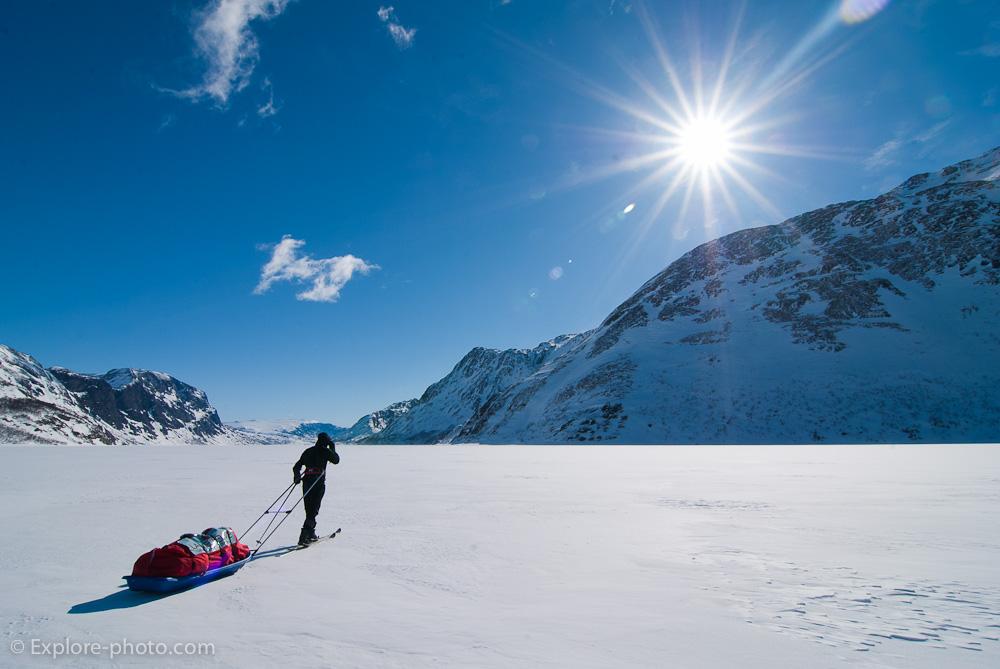 Raid à ski pulka en Norvège : I – le Skarvheimen