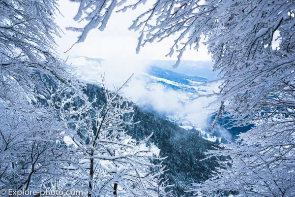 Rando bivouac à ski dans les Vosges