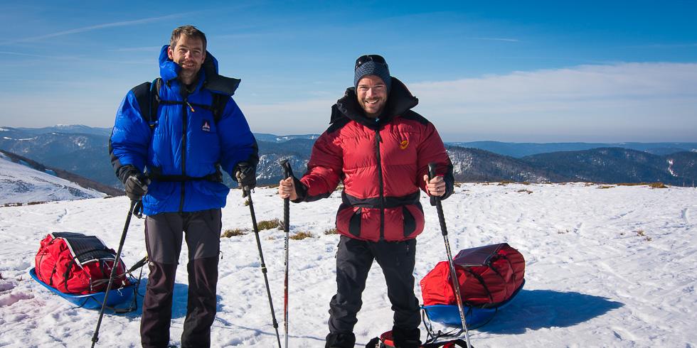 Sur les glaces de Baffin : pour nous suivre