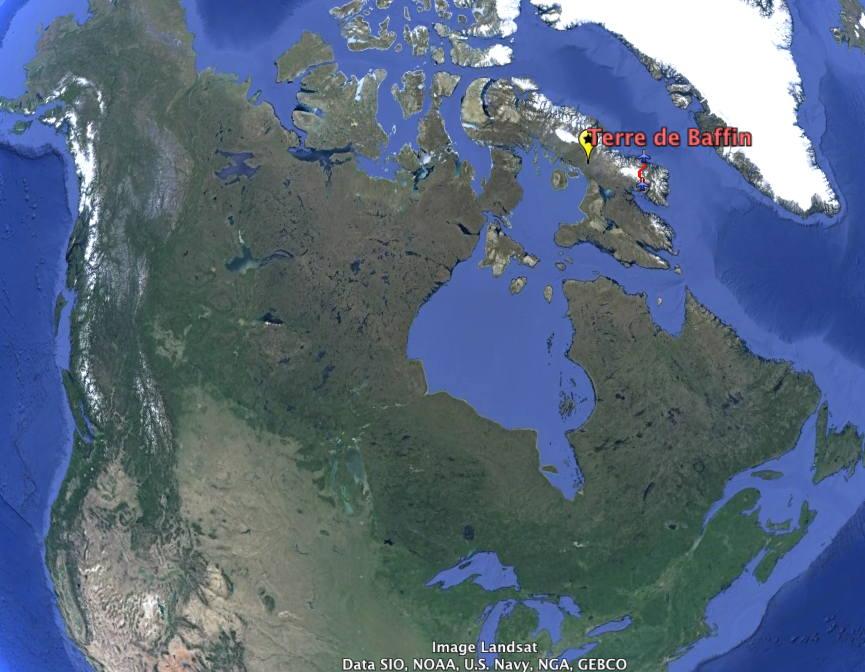 Présentation de l'expédition en Terre de Baffin (Arctique canadien)